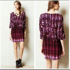 Anthropologie Maeve Petal Pallet Tunic Dress